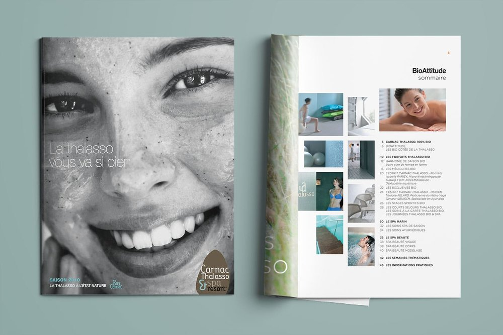 Brochures/programmes annuels - Carnac Thalasso & spa Resort