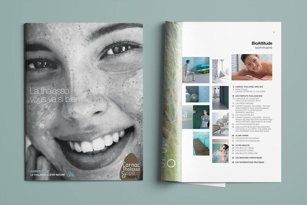 Brochures/programmes annuels - Carnac Thalasso & spa Resort