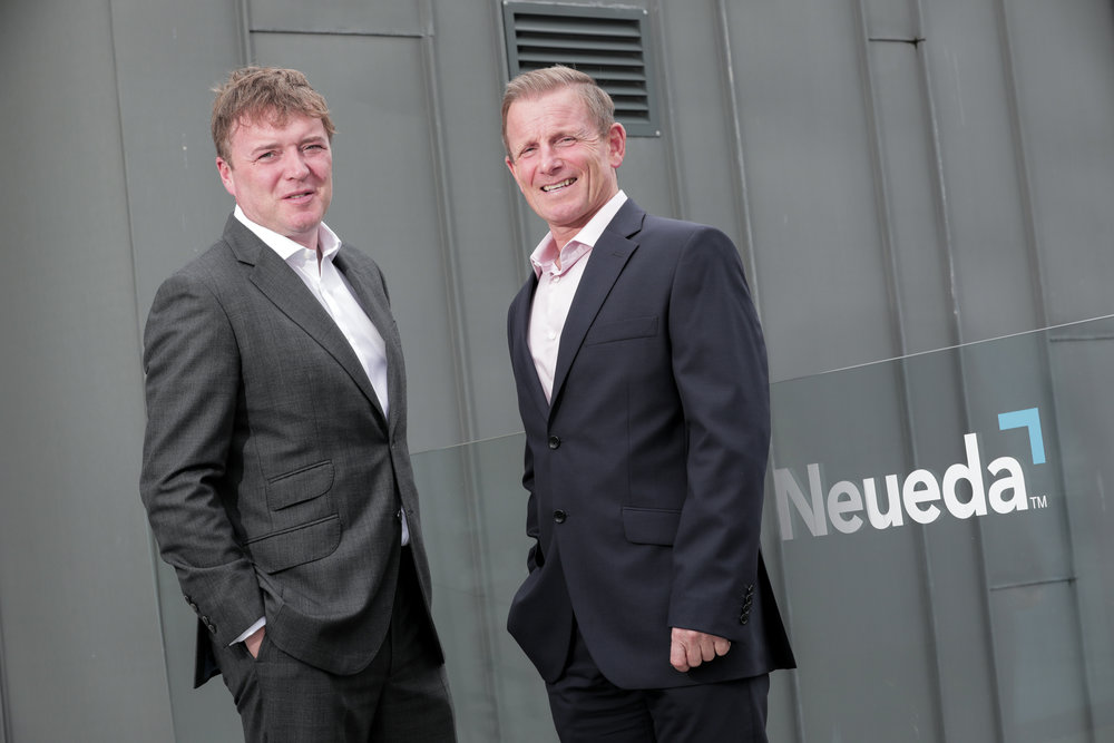 L-R Neueda's recently appointed Regional Account Director for Ireland, Mark Dunne with Peter Russell, Sales Director at Neueda.