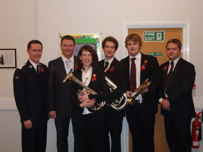 Hammonds soloists and conductor in Nottingham