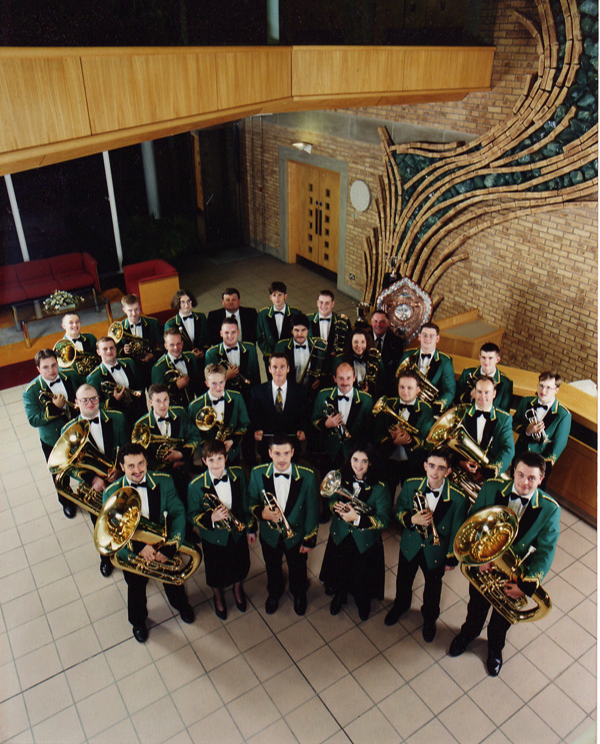 The Yorkshire Building Society Band, August 1995