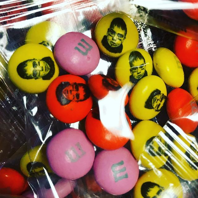 Cause every 7 year old deserves their face on M&M's.  #wemakecoolshit #accentlogos #ottawa #promo #m&m's #mandms #candy #promotionalproducts