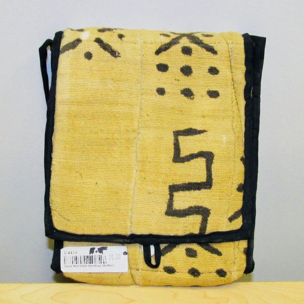 Copy of Yellow Small Mud Cloth Handbag — Gullahroots.life db371c4362a6f