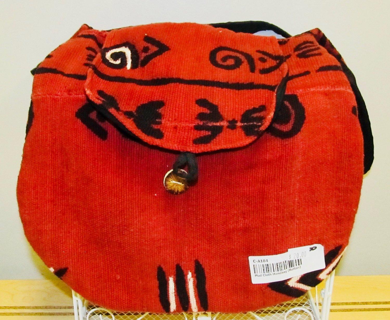 Red Mud Cloth Handbag — Gullahroots.life 2bcef63ec5942