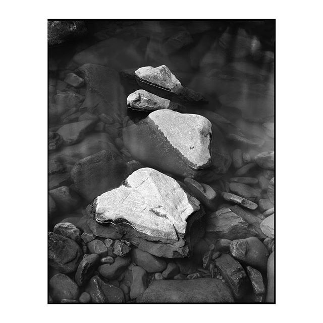 """Fade to Silence"" 2019.002_S020 ————————————————— #photography #largeformat #8x10 #intrepid8x10 #intrepidcamera #ilfordphoto #ilfordfilm #ilforddelta100 #analog #analogphotography #film #blackandwhite #landscape #water"