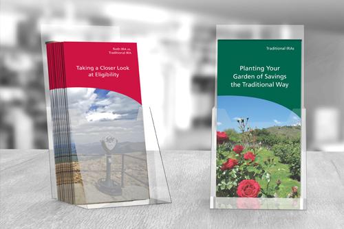 Ascensus' consumer marketing brochures