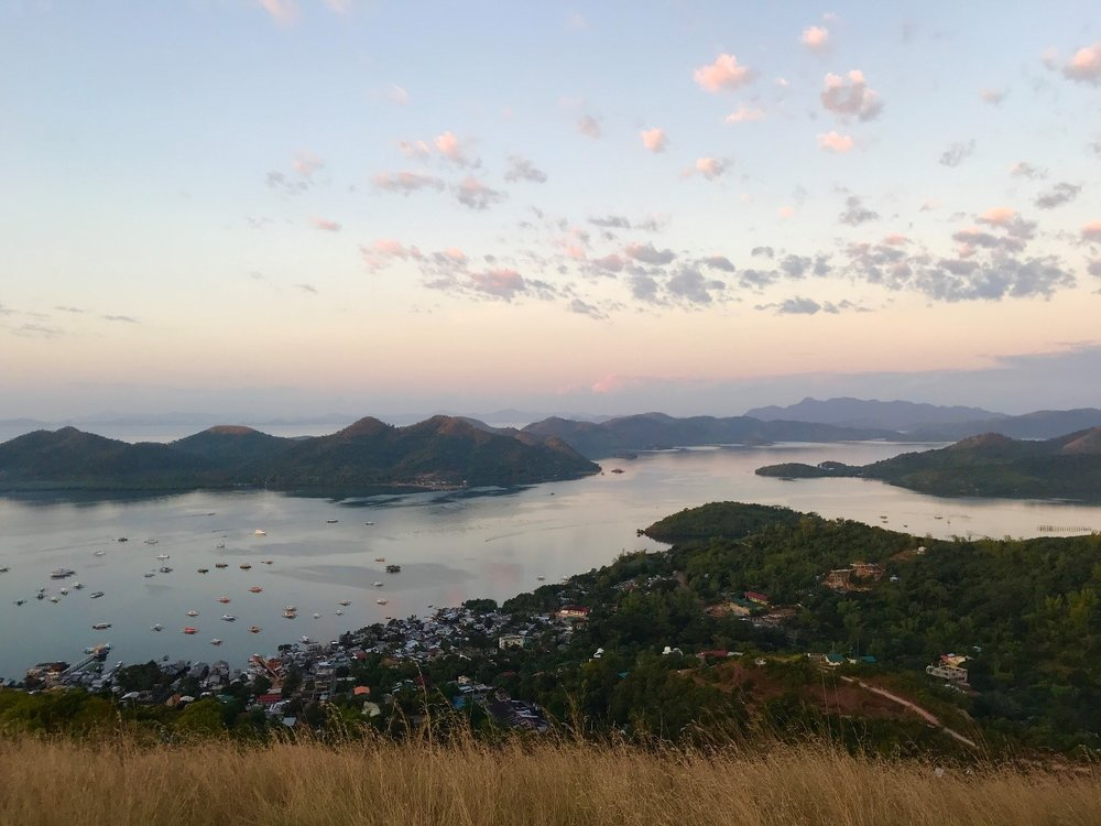 Coron and surroundings as seen from Mount Tapyas