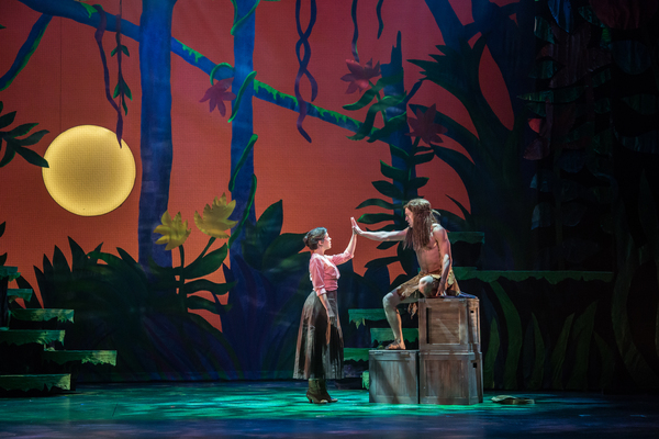Photo Coverage: First Look at TARZAN - Featuring hit music by rock legend, Phil Collins, such as the Academy Award-winning