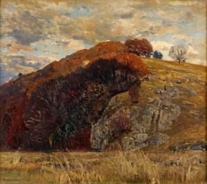 Eugen_Bracht_Herbstabend_1913