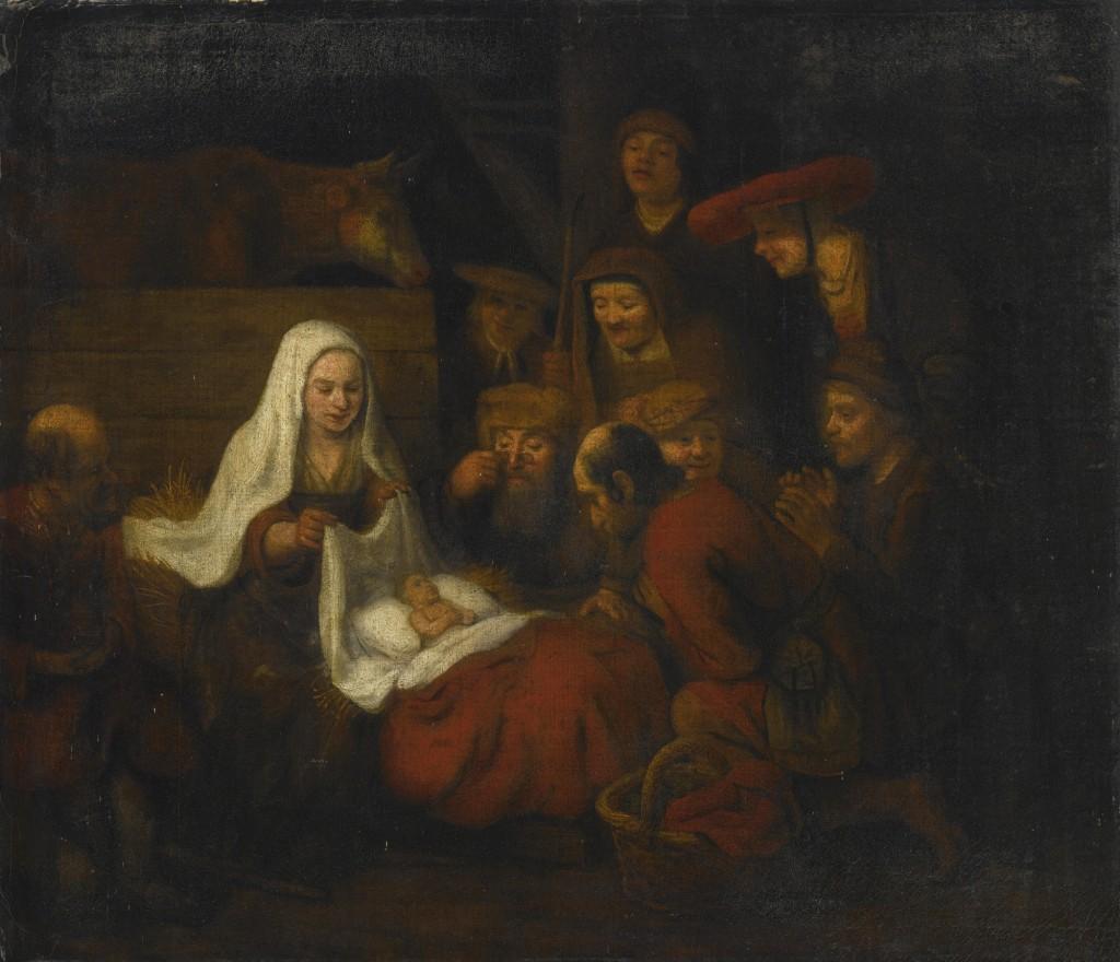 Abraham_van_Dyck_Adoration_of_the_Shepherds