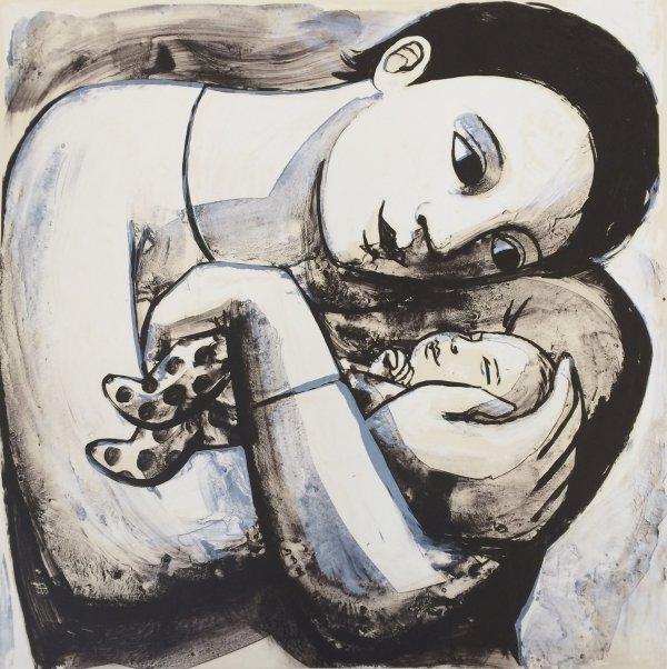 The Tiny Baby,Anita Klein