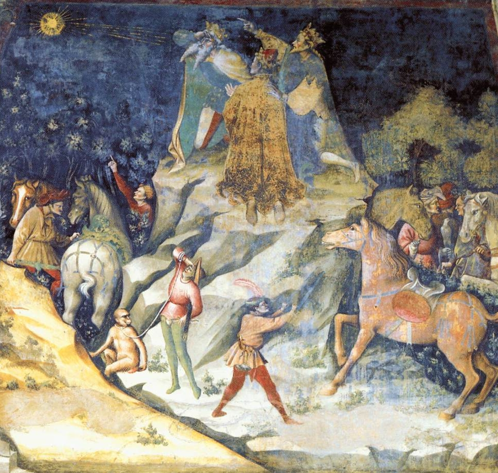 The Appearance of the Star,  c. 1412, Fresco, Basilica di San Petronio, Bologna
