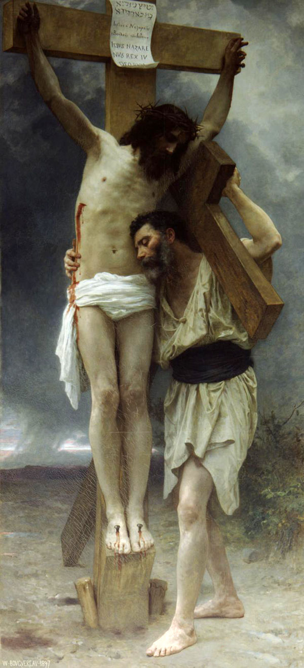 Compassion,  William Adolphe Bouguereau