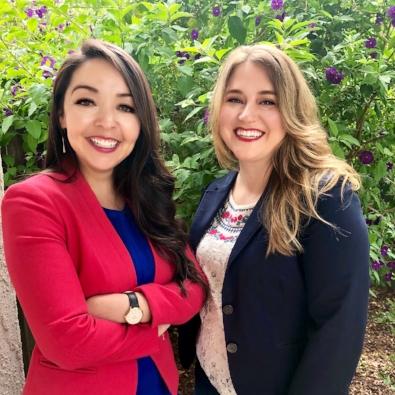 2018 Graduates  Samantha Contreras  &  Tamar Foster  enters their  Mindfulness G.Y.M.  venture