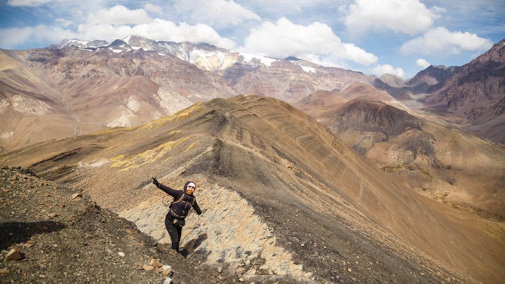 Cerro Marmolejo desde Cerro Panimávida