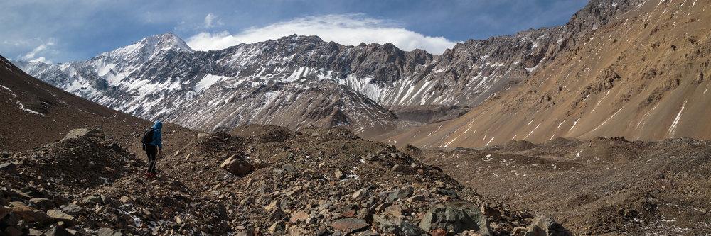 Glaciar Pirámide