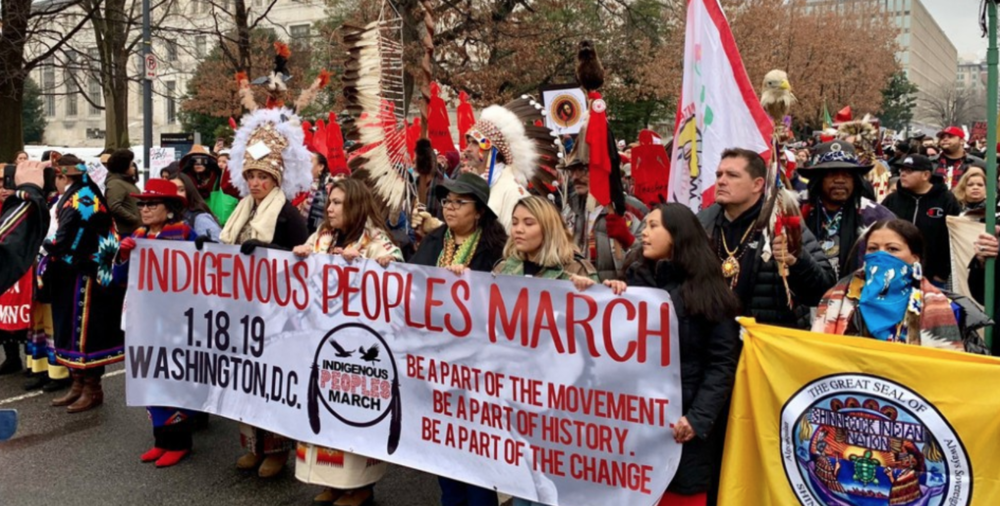Indigenous Peoples March 2019