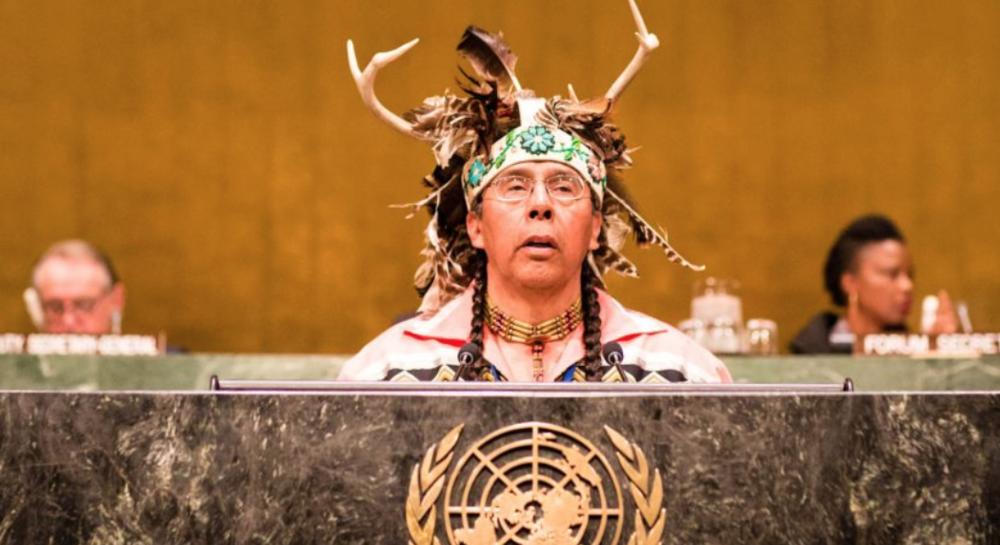 Tadadaho Sid Hill at United Nations