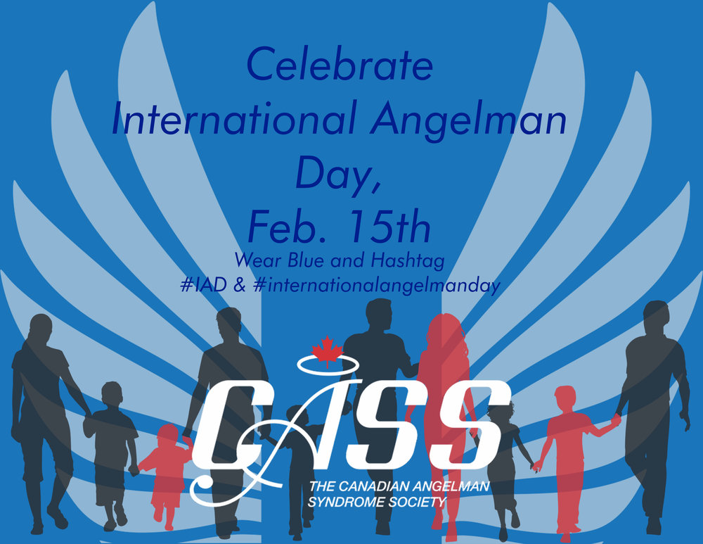 A great way and day to raise awareness for Angelman syndrome.