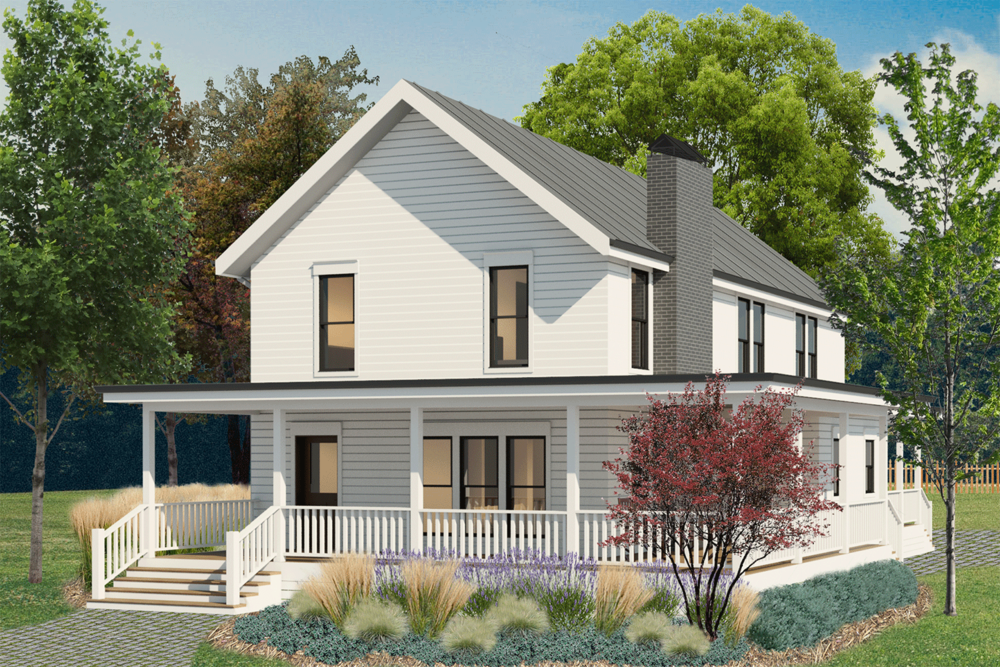 Awesome Modern Farmhouse Plan