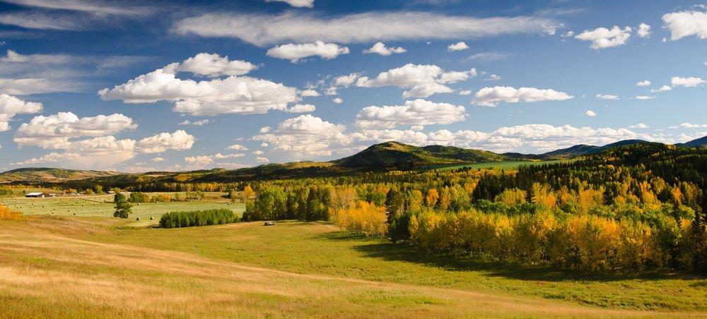 The Rislings Home Foothills Alberta