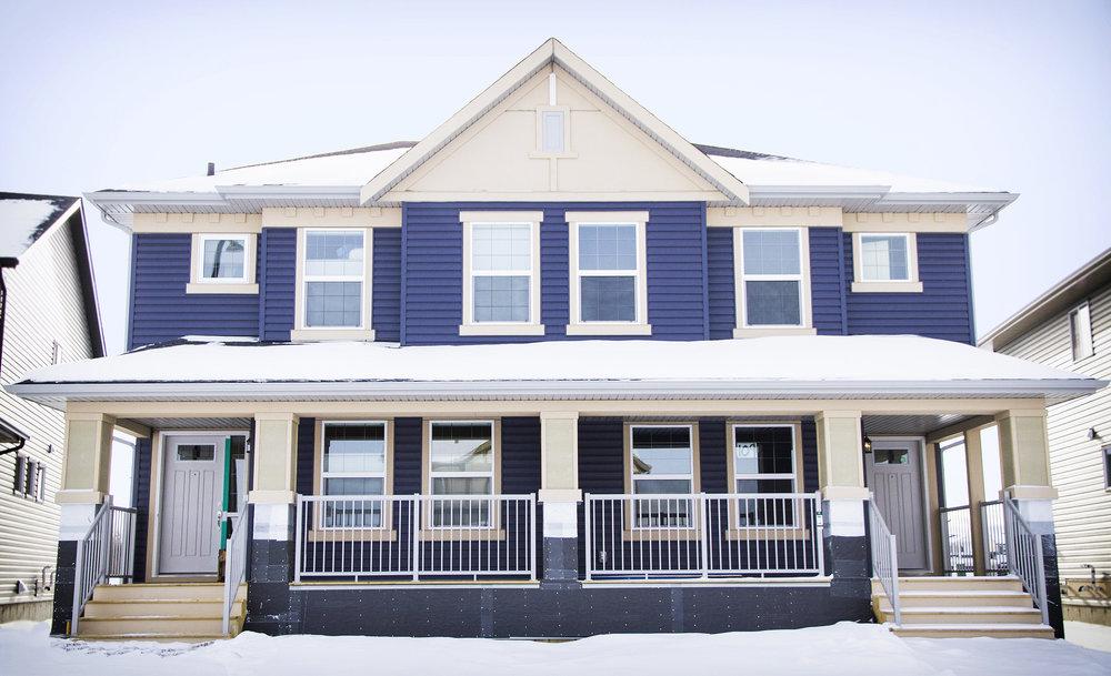 Risling Exteriors - Duplex Semi-Detached Home