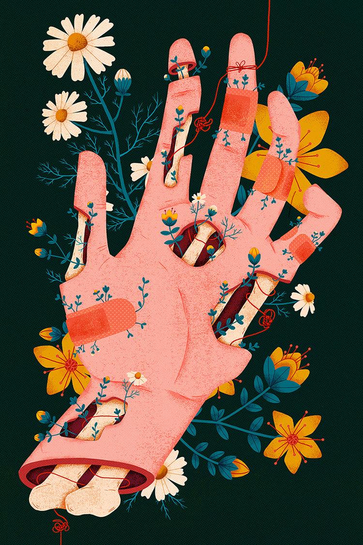 Ilustração    Megan Sebesta
