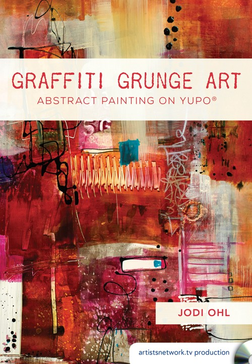 GRAFFITI GRUNGE ART - Have you ever used baby wipes and alcohol drops on your paintings? This video will teach you fun and new ideas that will expand your artistic knowledge so you can incorporate different materials in your artwork. By working on YUPO® paper, you will learn how to create a holistic composition that features geometric shapes, bright acrylic paint, and experimental media. Discover what it means to be an abstract painter!