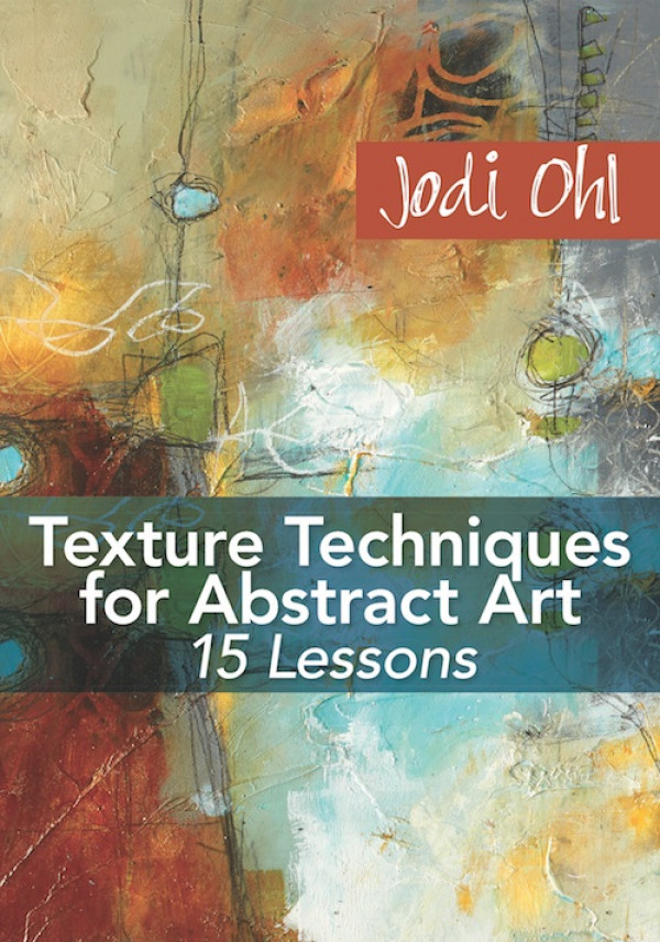 TEXTURE TECHNIQUES FOR ABSTRACT ART - Creating textured and layered abstract art has never been so easy or fun. In this video worskshop Jodi Ohl will guide you through the creation of 3 abstract paintings from start to finish. Explore three different texture mediums to serve as the foundation for your art. Next, explore color, balance, line work and pattern in Jodi's exciting and experimental style. Order your copy today!