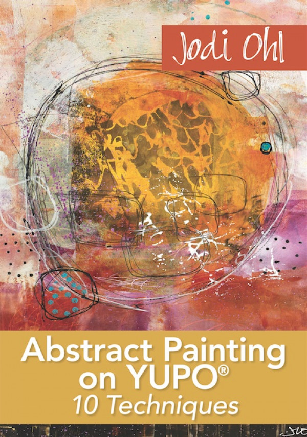 This video workshop will give you exciting insights about the special effects you can create in your artwork, and how to mix and match those effects to create complex-looking abstract compositions. Follow along as you work on unique YUPO® surfaces to create 3 abstract paintings that focus on different features of abstract art: color, contrast, line, pattern, and more. Order your copy today!