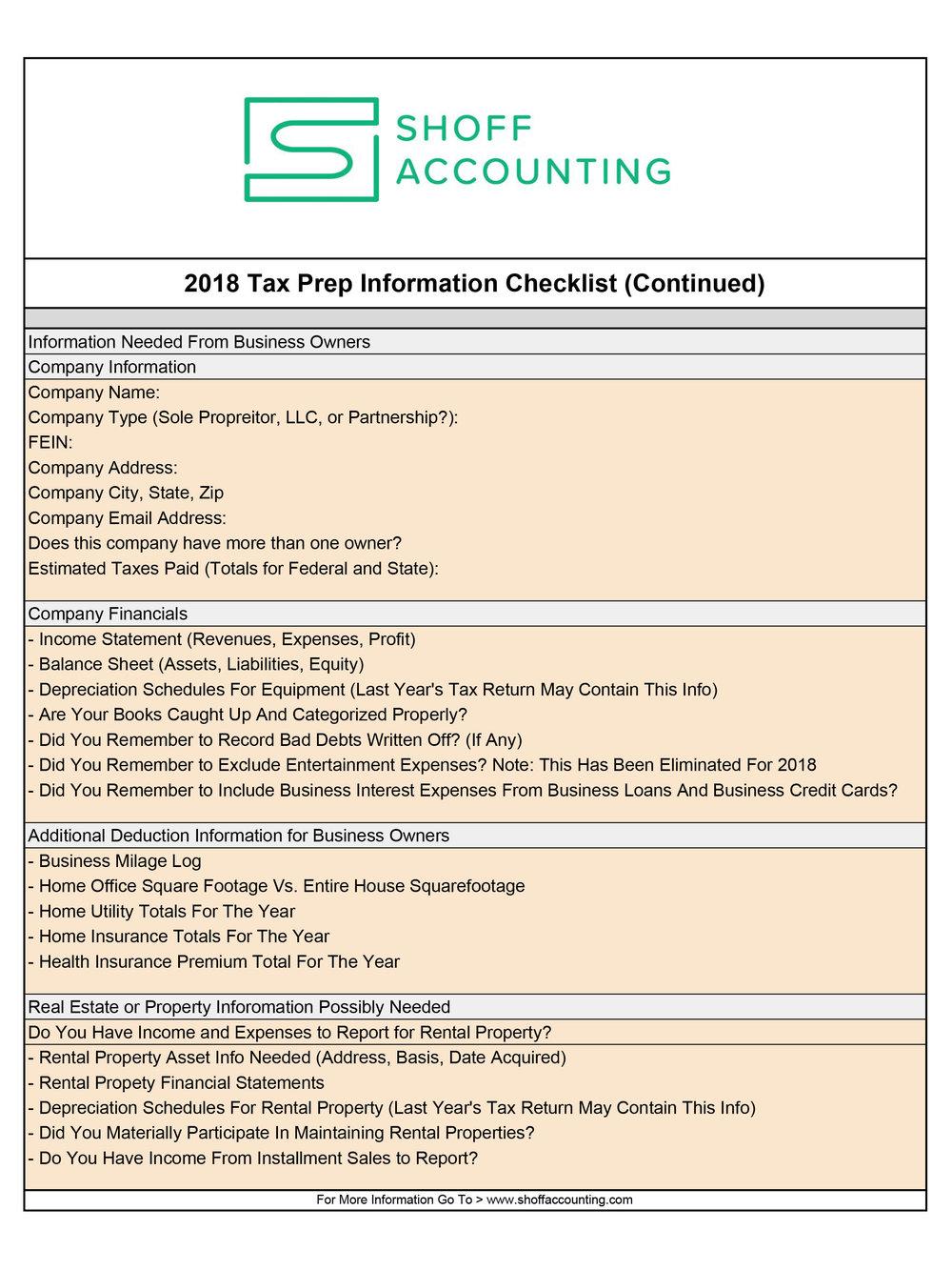 2018 Tax Information Checklist - Feb 2019 - Sheet2.jpg