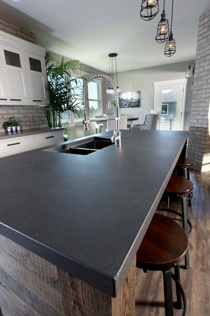 Industrial Elements Concrete Countertops Quartz Craft