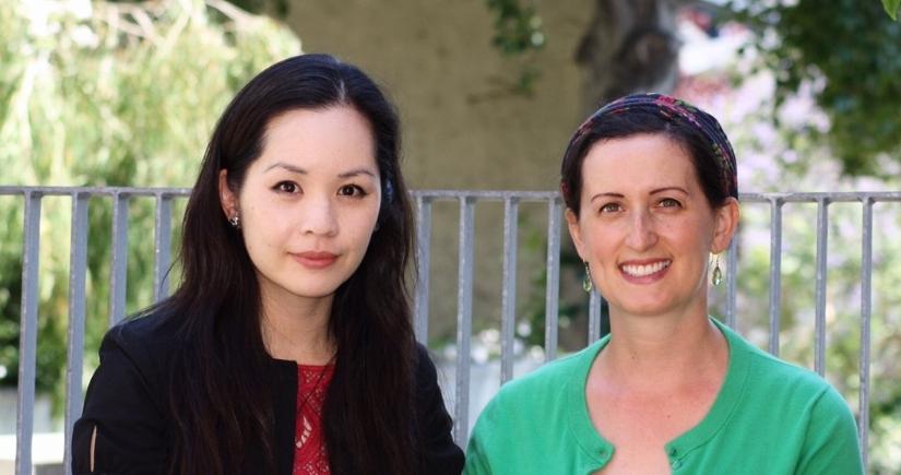 Janie Hong and Polina Eidelman