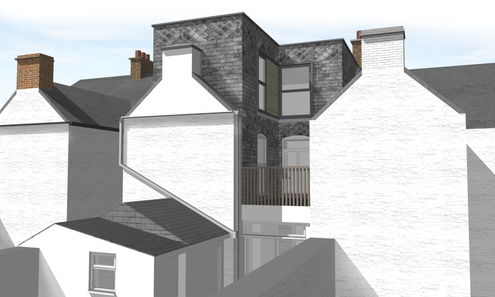 A Proposal for a rear loft extension within a historic Victorian terrace, now back on the drawing board!