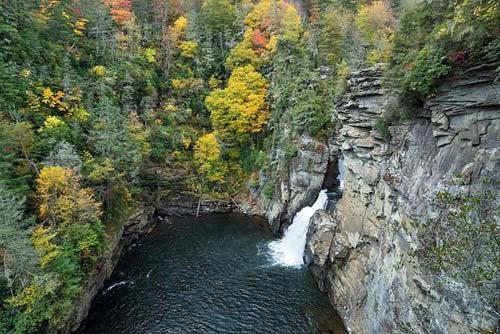 The Linville Falls
