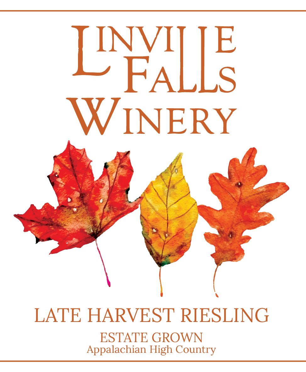 Late Harvest Riesling - Fun fact: grapes get sweeter the longer they cling to the vine. New flavors are awakened in the late harvest of our estate grown Riesling, a subtle and delicate sweetness with grapefruit and apricot.
