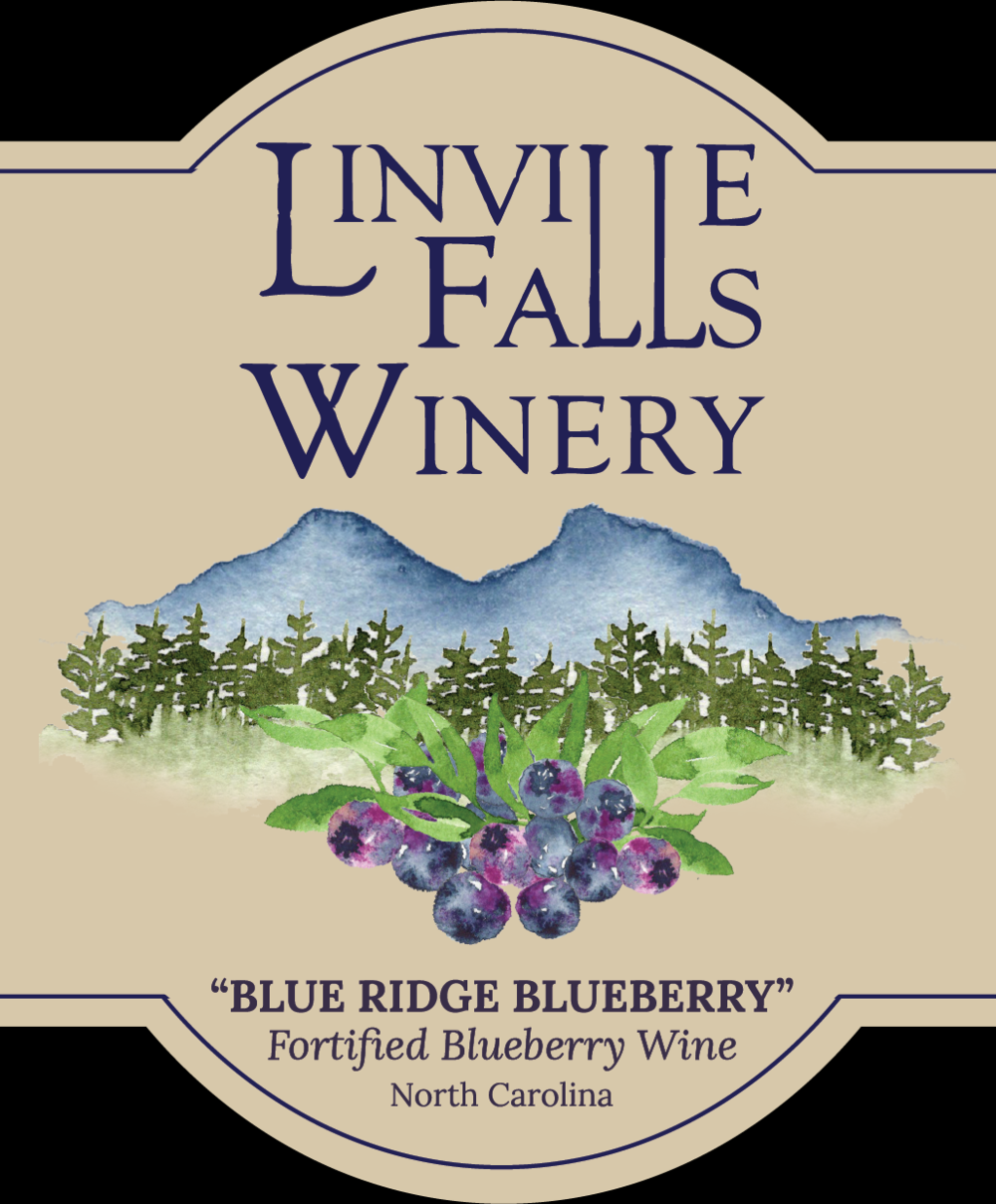 Blue Ridge Blueberry - Is there anything better than fresh, mountain blueberries? How about fresh mountain blueberry wine, fortified with local apple brandy!