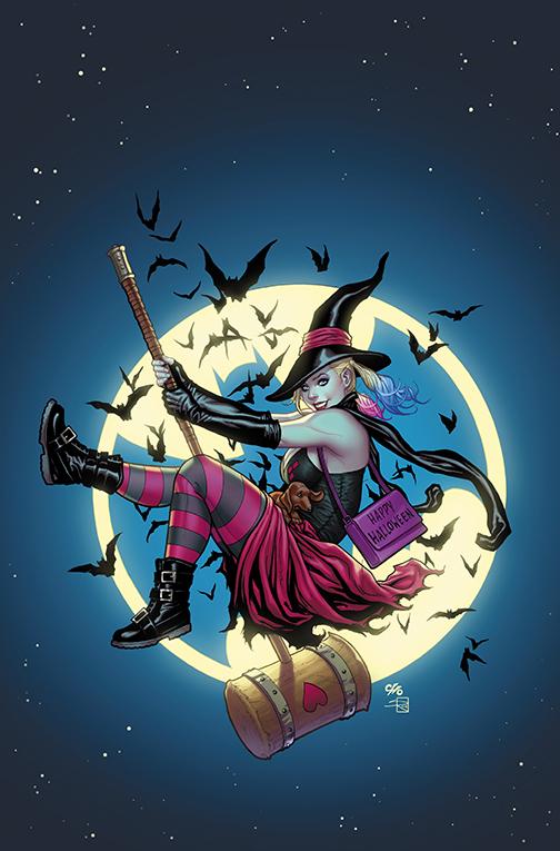 Super Cute Halloween Harley Quinn #30 Frank Cho variant