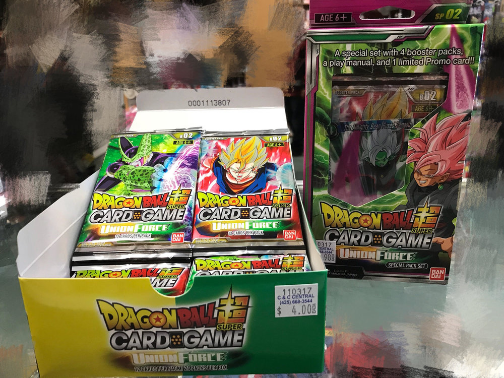 Dragon Ball Super booster 2 UnionForce