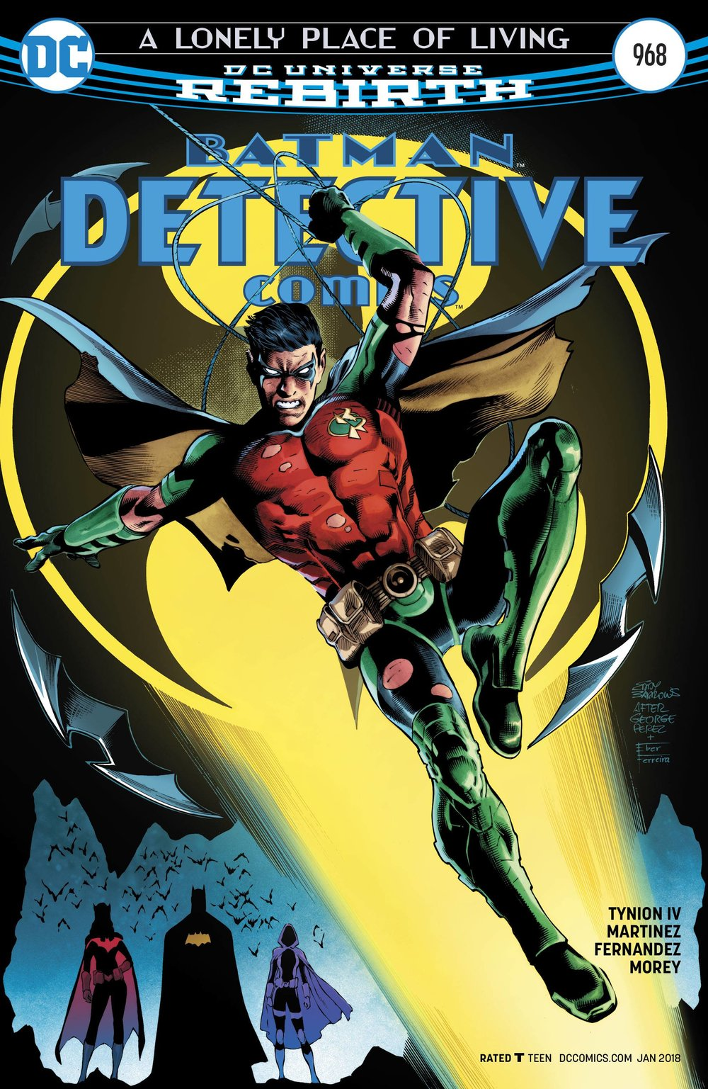 Detective Comics #968  A Lonely Place of Living finale~