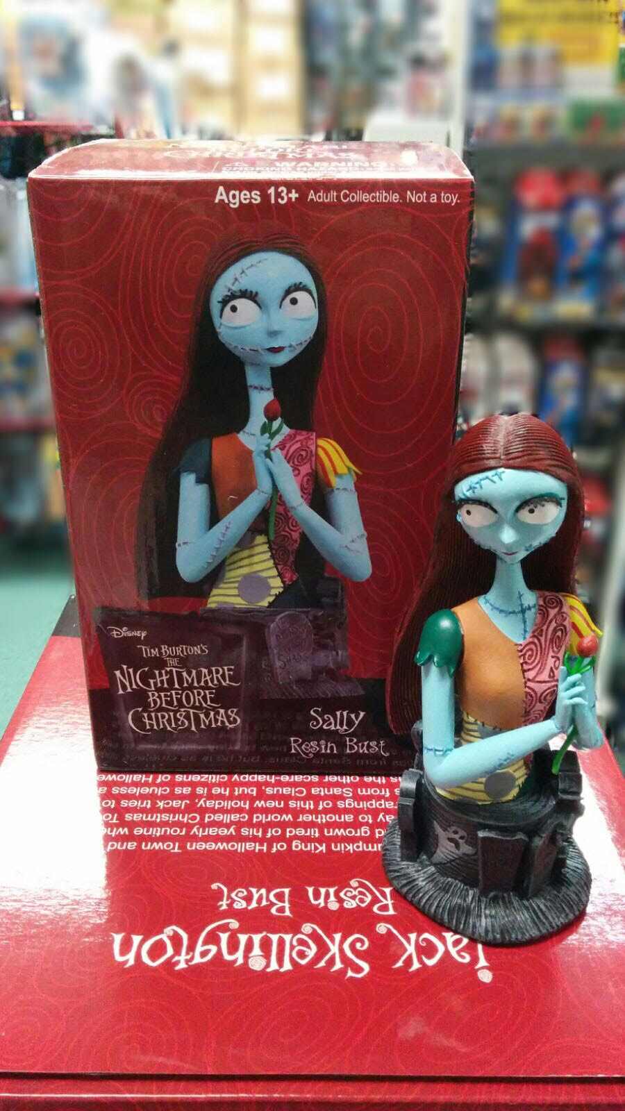 Nightmare Before Christmas. Sally Resin Bust