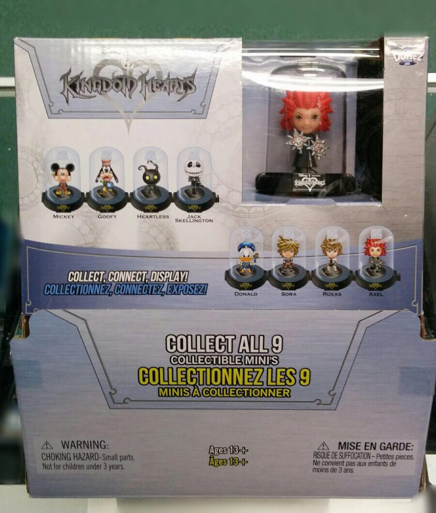 Kingdom Hearts Mystery collectibles
