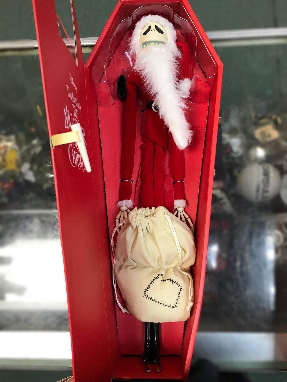 Santa Claus Jack open