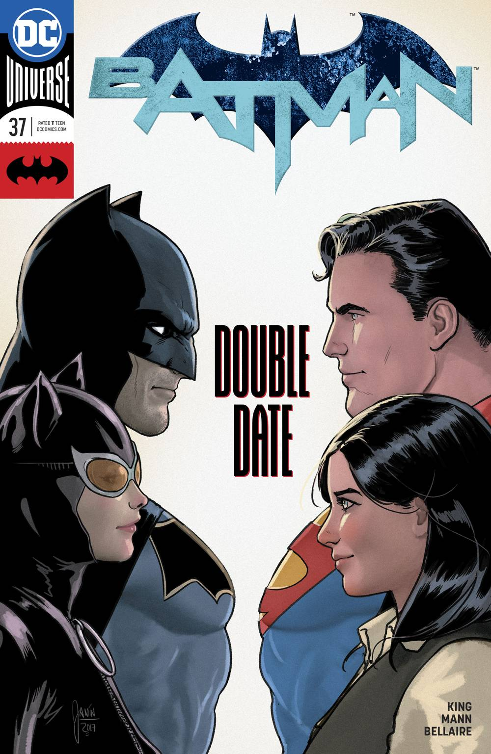 Batman #37. Look how cute Lois looks
