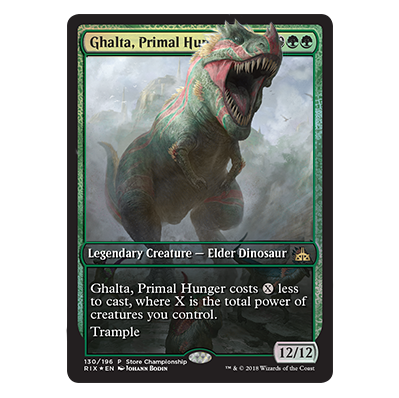 Preview card from Rivals of Ixalan for all participants