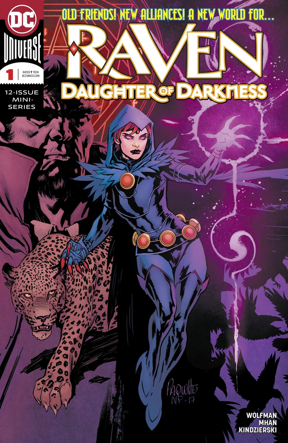 Raven Daughter of Darkness #1
