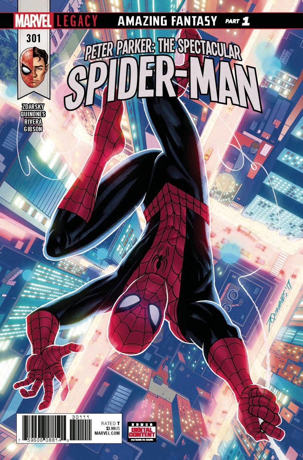 Peter Parker : The Spectacular Spider-Man #301