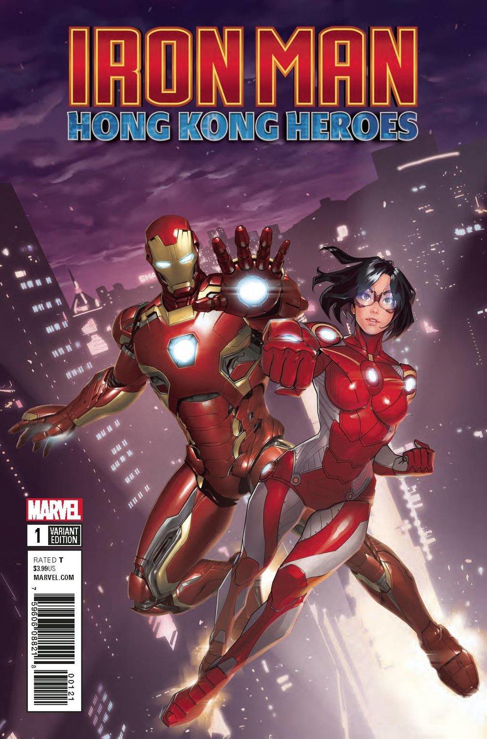 Iron Man Hong Kong Heroes #1