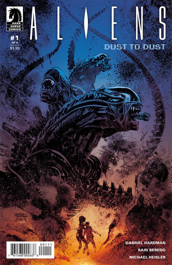 Aliens Dust to Dust #1