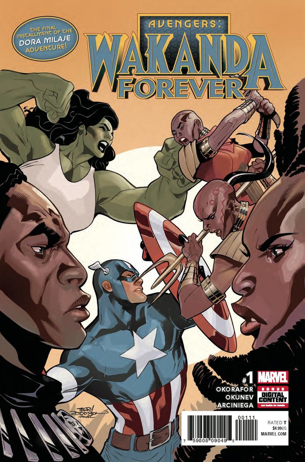 Wakanda Forever Avengers #1
